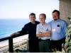 На балконе у брата Владимира Тымчак. Русский по происхождению. В Бразилии он руководит миссионерским служением в Союзе баптистов. Ныне у Господа.