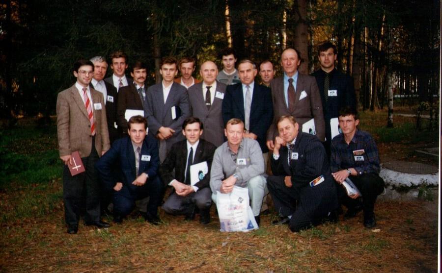 Братья служители Омска на пасторской конференции в Новосибирске.