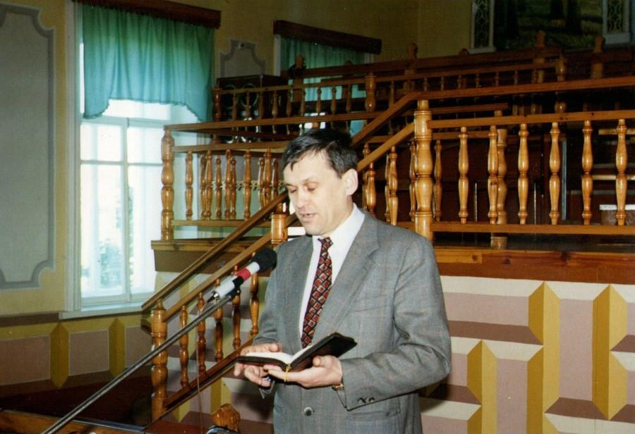 В родном Омске как в гостях.  Совещание служителей Омской области.