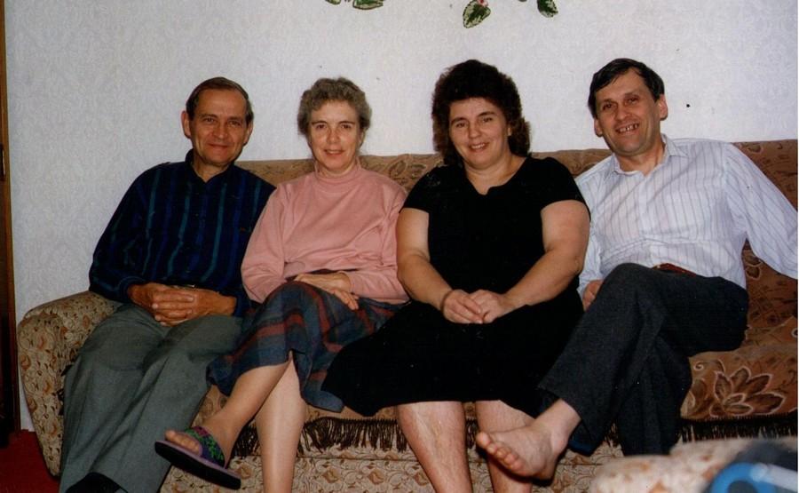 друзья Омской церкви Барбара и Теодор Беккер.