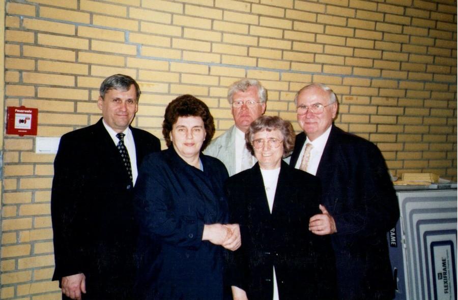 Омские миссионеры в Германии. Герман Гартфильд с супругой Марией