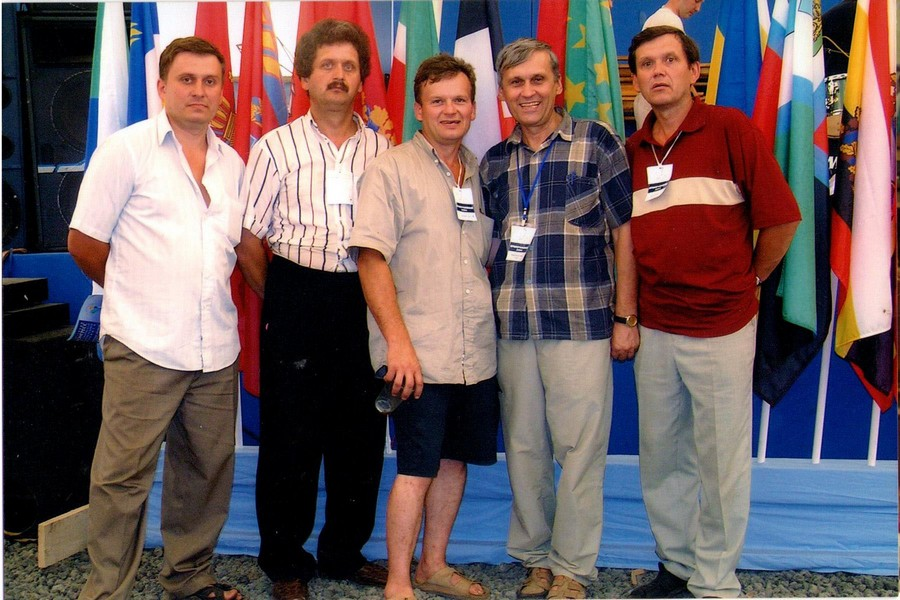 Пятёрка Сипко на конгрессе в Брянске. Двоих нет.