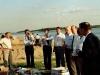 Участники совета Старших пресвитеров на берегу Иртыша.