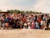 Крещение в Омске 1991 год.  на берегу Иртыша