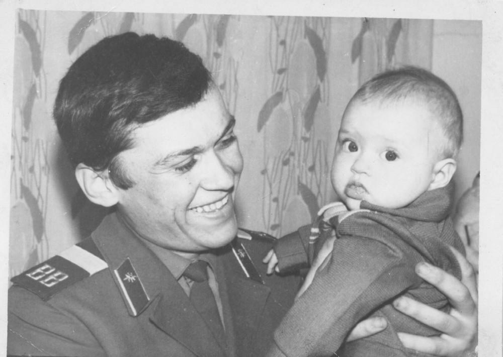 Юрий Сипко и Елена 1973г.
