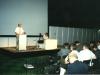 Брат Комендант выступает на Всемирном собрании благовестников в Амстердаме. Я наблюдаю.