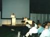 Теперь я выступаю, а брат Комендант наблюдает.  Амстердам 2000.