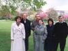 Люди известные. Семейные. Всё свято. Где-то в парке германском, в перерыве между официозом.
