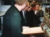 . В библиотеке семинарии  у баптистов Америки.  Иосиф Макаренко, Винцент Прайс, смотрят в раритеты, книги времён Яна Гуса.