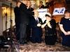 Василий Ефимович совершает молитву благословения на служение Председателя РС ЕХБ.