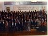Участники конференции служителей Краснодарского края, и Адыгейской Республики.  Рядом с Петром Борисовичем  Парфёненко  Евгений Михайлович, старший пресвитер Краснодарского Края и Адыгеи. Рувим Степанович Волошин в первом ряду, и я рядом с ним.